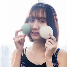 1PCS Makeup Removal  Konjac Sponge Cosmetic Puff Face Cleaning Natural Facial Cleanser Tool Wash Flutter CW31