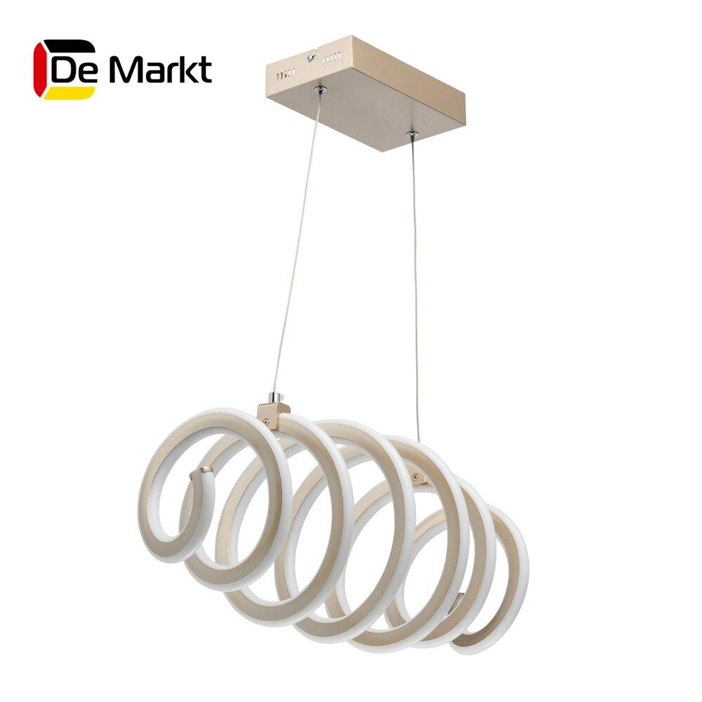 цена на Ceiling Lights De-Markt 496018501 lighting chandeliers lamp Indoor Suspension Chandelier pendant