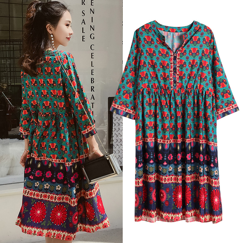 New Maternity Dress gravida Bohemian Dresses Summer Clothes For Pregnant Women Maternidade Pregnancy Fashion Clothing