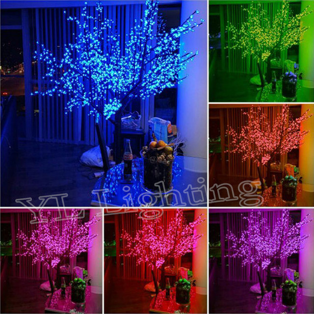 23meters 2400pcs artificial christmas trees with led lights outdoor tree decorations blue christmas lights free shipping europ - Christmas Lights Online