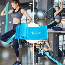 цена 1.8m Rubber resistance bands Latex loop elastic band for Yoga fitness equipment Pilates Training Stretched Crossfit fitness gum онлайн в 2017 году