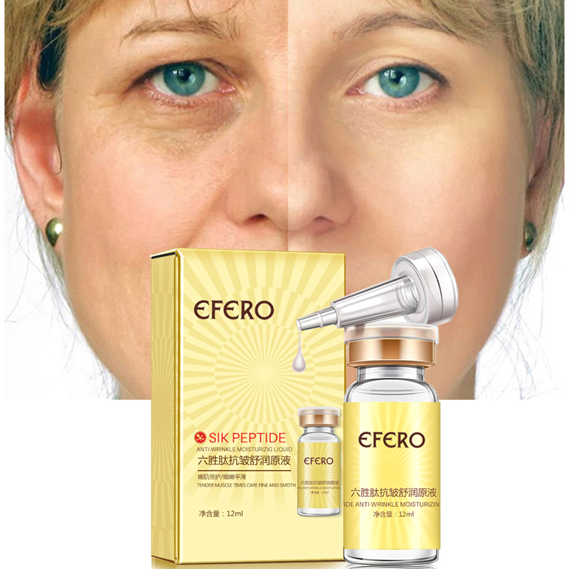 efero Argireline Anti Wrinkle Serum for Face Essence Skin Care Anti-Aging Firming Whitening Face Cream Instantly Ageless Beauty
