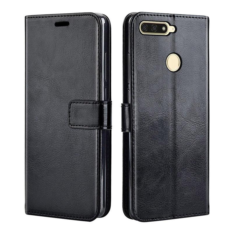 Luxury Flip Leather Case For Huawei Honor 7C Case On Honor 7C Back Cover Phone Case For Huawei Honor 7C AUM-L41