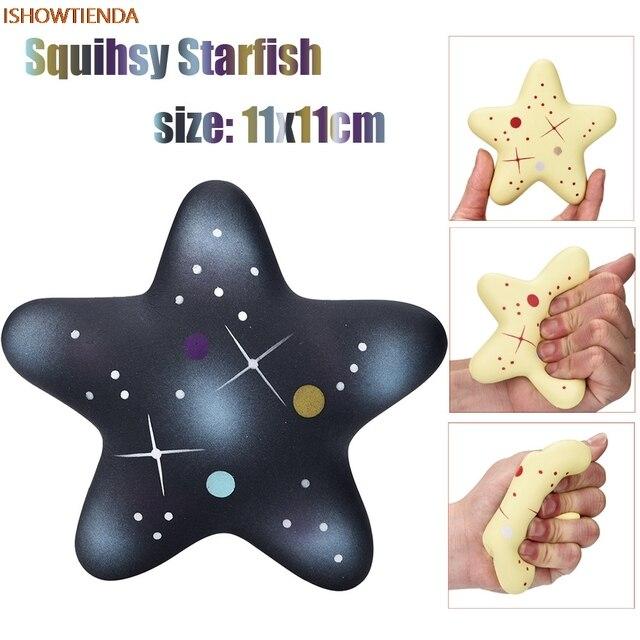 Изысканный весело Galaxy Star fish Ароматические мягкими очарование замедлить рост 13 см дети Squeeze игрушки сбор Fun снятие стресса Прямая поставка