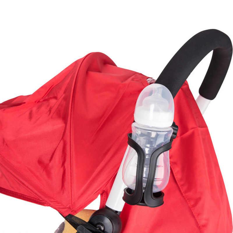รถเข็นเด็กทารกใหม่ถ้วยชั้นวางขวดสากล 360 หมุนได้ถ้วยสำหรับรถเข็นเด็กกระเป๋าใส่ขวดนมรถเข็น