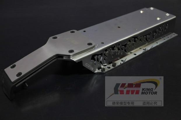 Aluminum Alloy Main Frame and Front Frame Brace Kit Fits HPI Baja 5B, SS, 2.0, 5T 5SC axspeed sakur xis frame kit alloy