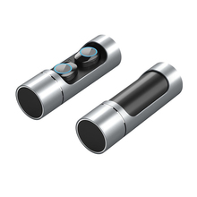 K01 Cylindrical TWS Bluetooth V5.0 Wireless Earphones Touch Control Stereo In-ear Earbuds Sport Headset With Charging Case Mic
