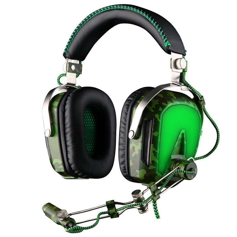 High Quality SADES A90 Pilot 7.1 USB Deep Bass Surround Sound Stereo PC Gaming Headset Headphones with Retractable Microphone each g8200 gaming headphone 7 1 surround usb vibration game headset headband earphone with mic led light for fone pc gamer ps4