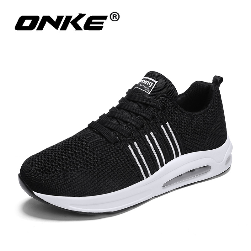 Onke Men Sneakers Brand Spring Autumn Running Shoes for Man Breathable Flyknit Shoe Sports Male Scarpe Uomo Sportive Trainers цена