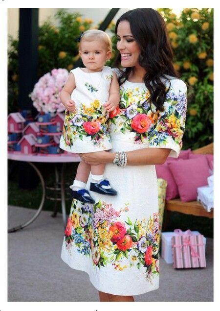 Mother Daughter Dress...