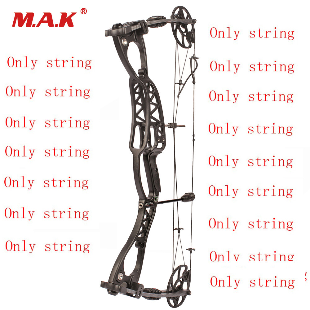 Compound Bow String In Set Bow Accessory For JunXing M127 Compound Bow Archery Hunting Shooting