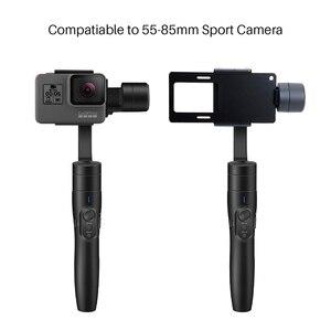 Image 2 - Feiyu Vimble 2 Erweiterbar Handheld Telefon Gopro Gimbal Video Stabilisator für iPhone X 8 7 Gopro Hero 6 Xiaomi Yi samsung S8