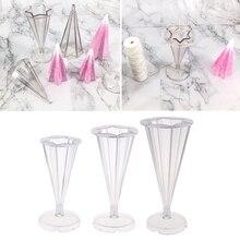 DIY полимерные формы форма для изготовления ювелирных изделий инструмент орнамент конус Пластиковая форма для свечей для полимерной глины, Крафт, эпоксидная смола, сушеный цветок