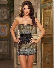 Ropa Interior atractiva de la muñeca de la ropa interior mujer rebordear strapless lenceria erotica sexy lencería cantante vestido de noche club wear