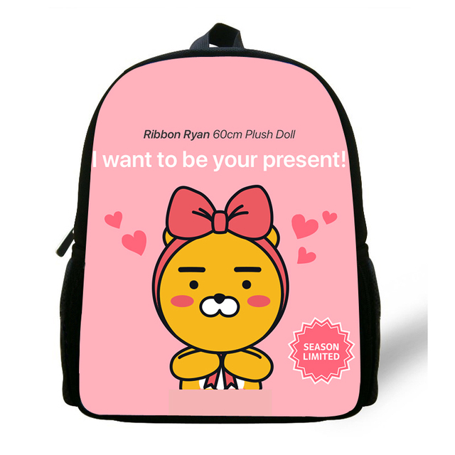 Kids Korean Ryan Cocoa Girls Small Backpack Children School Bags