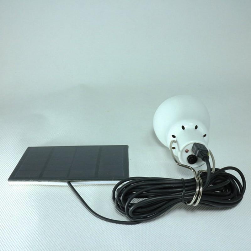 12 leds solar lâmpada de emergência bola luz acampamento ao ar livre tenda luz a60 lâmpada