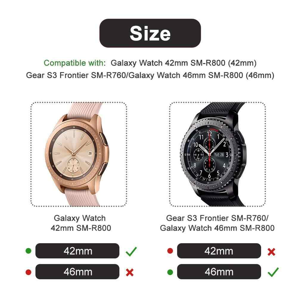 9ecb16c51dffe ... Gear S3 frontier For samsung Galaxy Watch 46mm 42m case strap reloj cover  soft TPU plated ...