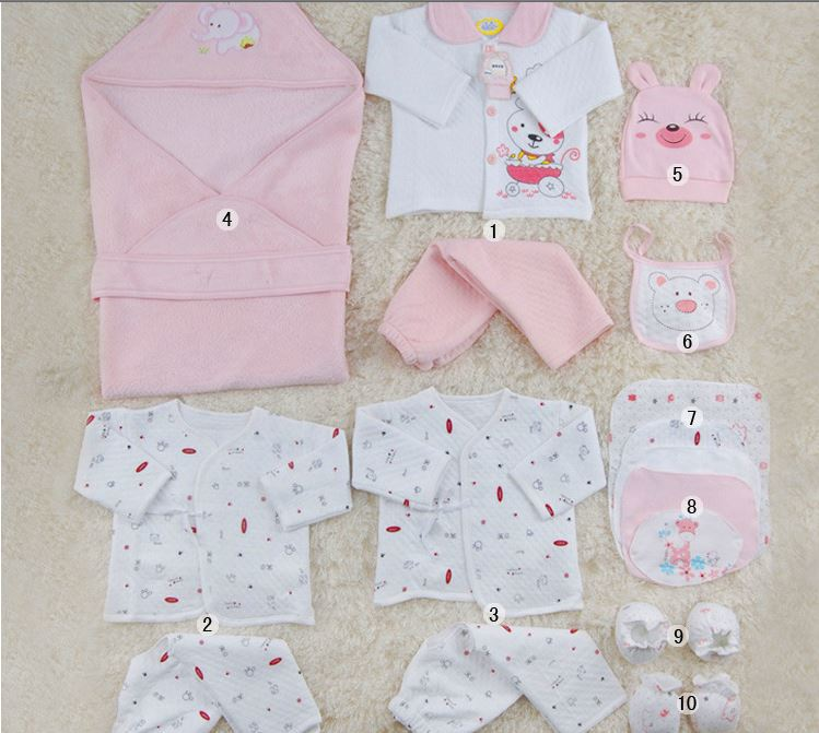 New 2015 100% Cotton Newborn Gift Set Baby Clothing Baby Newborn ...