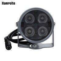 Hamrolte заполняющий свет 4 шт. мощный Массив светодиодный до 20 м ИК Расстояние ИК лампы для видеонаблюдения Камера IP камера безопасности Систем...