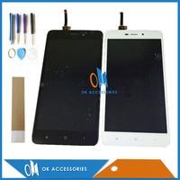 Black White Color 5 0 Inch For Xiaomi Redmi 4A Redmi4A LCD Display Touch Screen Digitizer