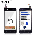 A+++ For Lenovo A319 Touch Screen Digitizer Panel Front Glass Lens Sensor Repair Replacement Parts Tools + Sticker Free Shipping