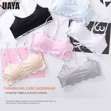 Купить с кэшбэком Sport Cropped Top Bra Push Up Running Yoga Bra Cotton Letters Sport Tops For Women Gym Wear Solid Fitness Bra Women Sportswear