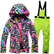 2016 Ski équipe neige vestes femmes Vent-soufflé Souffle camping femmes ski équipe snowboard équitation camping vestes et pantalons
