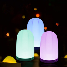 LED Touch Night Light Innovative Little Nightlight Table Bedside Nursing Lamp  Colors Light adjustable Night Lamp for bedroom lumiparty led table lamp sandglass sleep assistant nightlight rechargeable touch sensitive bedside night lamp minutes timer lamp