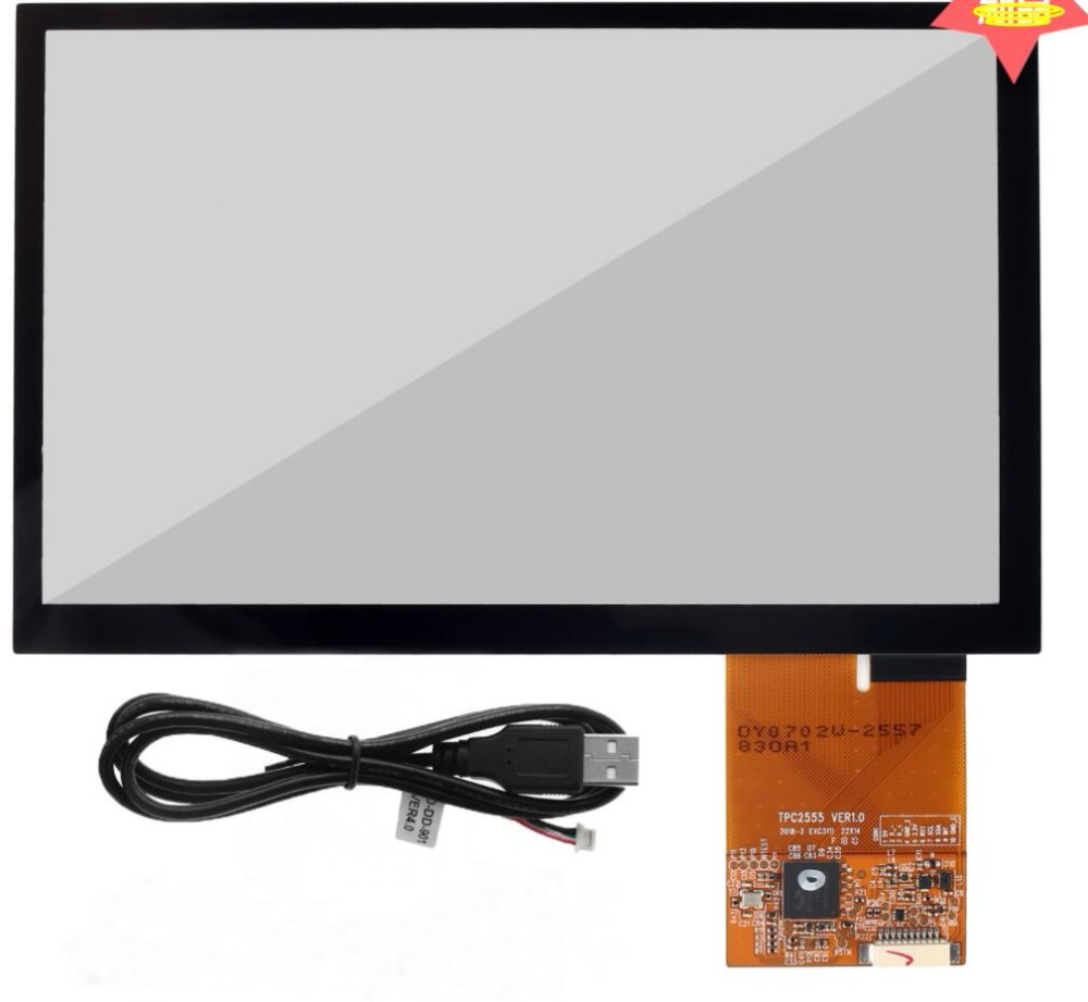 7-inch capacitive touch screen USB and IIC interface AA zone 154.08 *85.92mm Ruiya touch program7-inch capacitive touch screen USB and IIC interface AA zone 154.08 *85.92mm Ruiya touch program