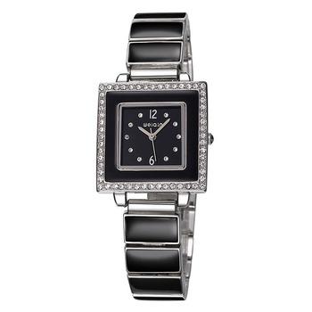 2019 nowy marka luksusowe nowy produkt moda kryształ diament zegarek ze stali nierdzewnej Watchband prosty biznes pani bransoletka zegarek damski zegarek tanie i dobre opinie QUARTZ Bransoletka zapięcie Nie wodoodporne Moda casual Odporny na wstrząsy 3688 Stop 15 8mm 21cm 7 2mm 31 2mm Papier