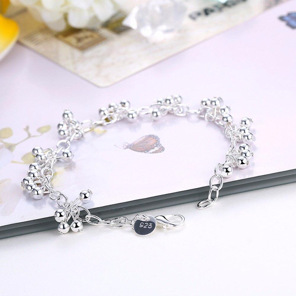 3220cad0273c SMTCAT 19 cm encantos luz UVA cuentas pulseras brazaletes para las ...
