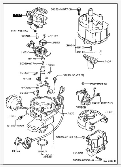Electrical 4g15 Distributor Wiring Diagram Mitsubishi