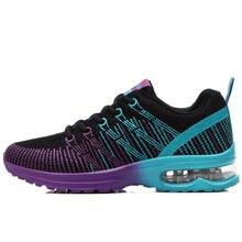Women Breathable mesh Casual shoes Woman Flat platform shoes Air damping fashion Cheap zapatillas mujer casual tenis feminino N8