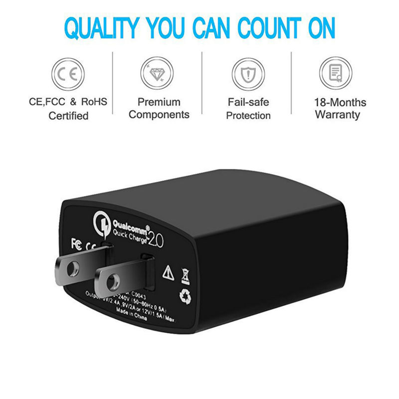 Qualcomm Quick Charge 2.0 Charger 3