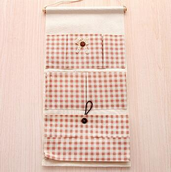 Cotton And Linen Office Bedroom Wall Pocket Eco Friendly Hanging  Organizer(China (Mainland