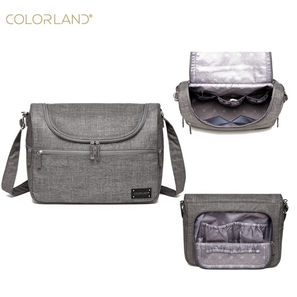 COLORLAND Diaper Bag For Mom Mother Messenger Hobos Multifunction Waterproof Maternity Bag For Bebe Baby Changing Nappy Bag