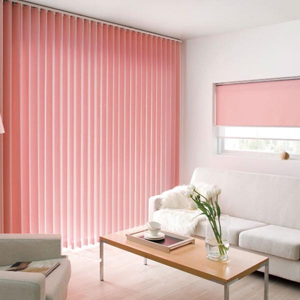 Wholesale Good quality finished fabric material vertical blinds for ...
