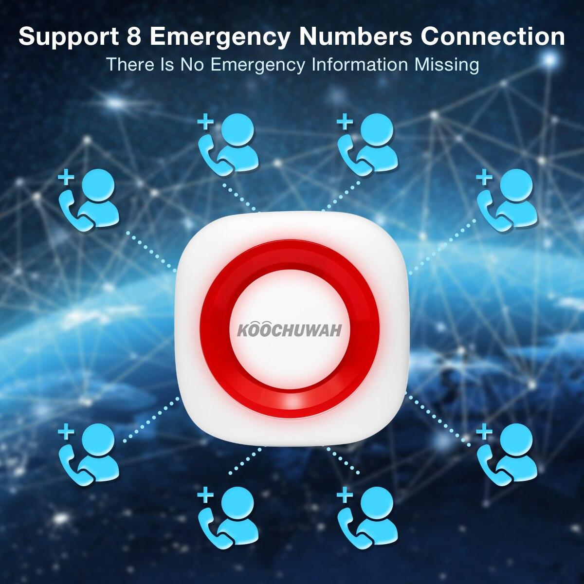 Botão de alarme de emergência