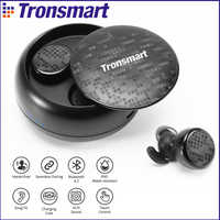 Tronsmart Spunky Buds Bluetooth Earphones IPX5 Waterproof Wireless Earphones with Bluetooth &Microphone Stereo for Phones
