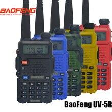 Sıcak pofung uv 5r Taşınabilir Radyolar Baofeng UV5R iki yönlü radyo Walkie-talkie 5 W vhf uhf dual band iletişim Ekipmanları