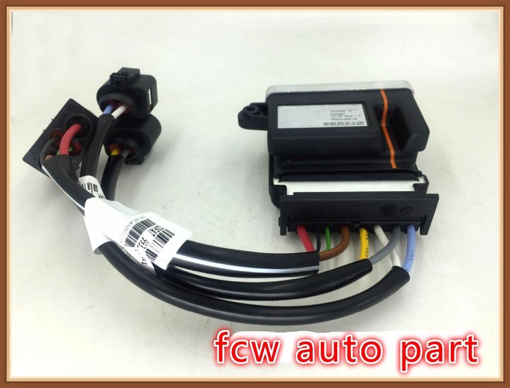 RADIATOR Fan Controller Module for AUDI a4 a5 a6 a7 q3 q5 8k0959501g 8k0910501d Cooling Fans Control radiator cooling fan relay control module for audi a6 c6 s6 4f0959501g 4f0959501c
