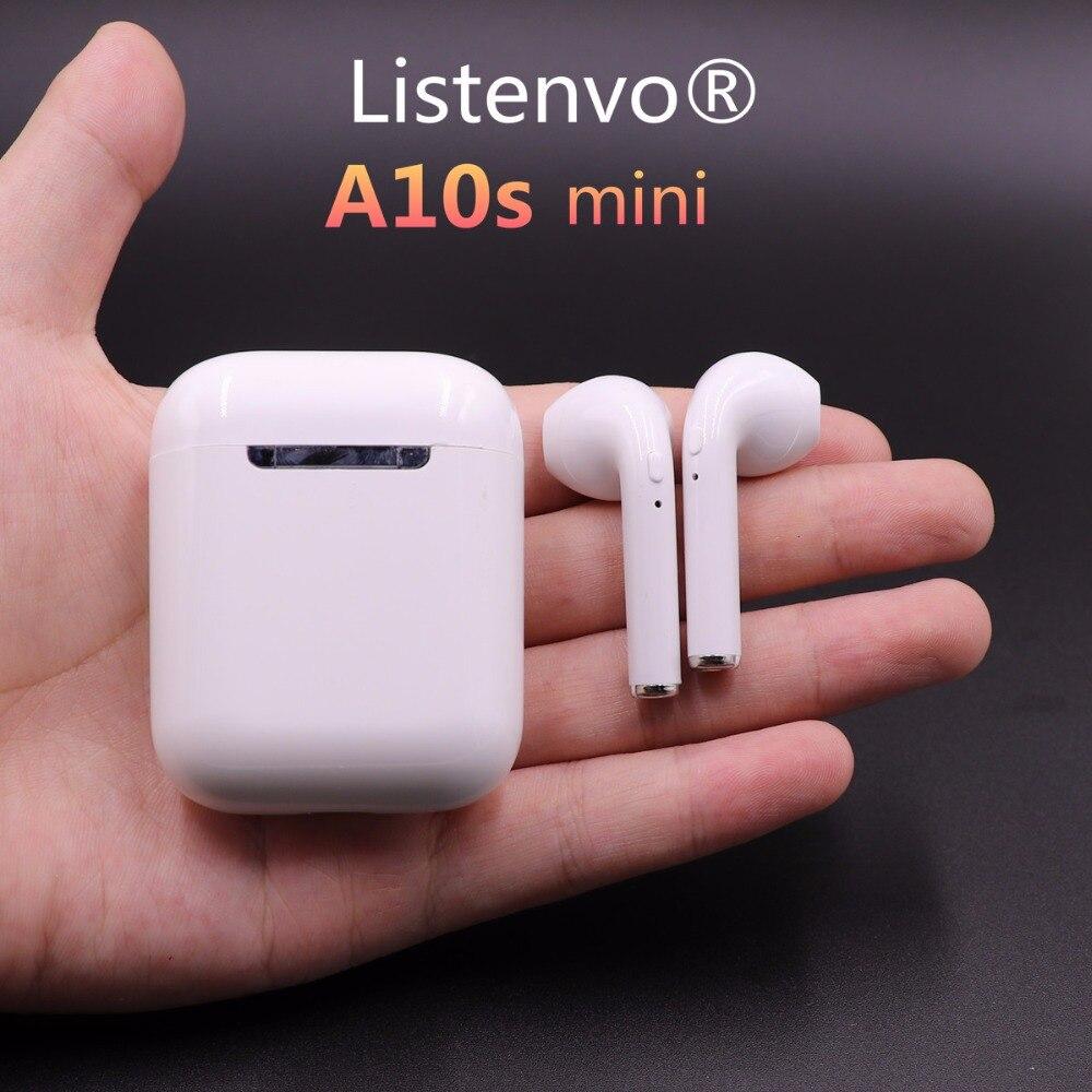 Dernière Airplus mini Sans Fil Bluetooth casque Écouteurs Double oreille Écouteurs Air gousses Casques pour Android IphoneX/8/7 s//6
