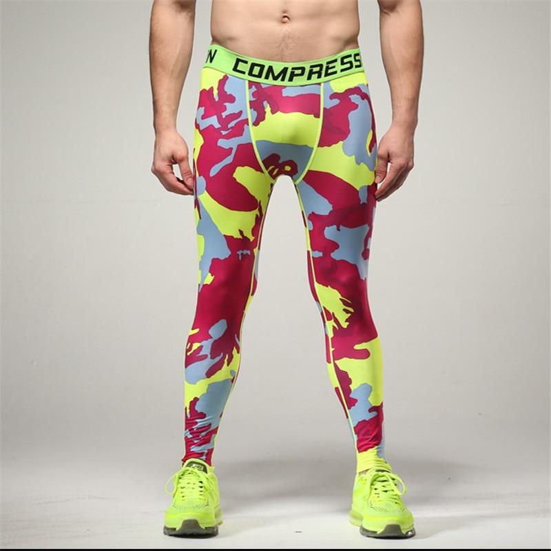 1abf1e391f Aliexpress.com : Buy Camo Mens Compression Jogging Pants Leggings ...