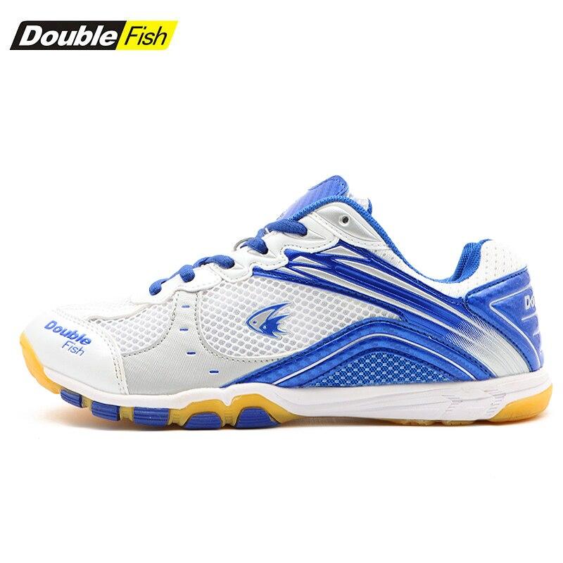 Double Poissons Amorti homme femme Non-slip Respirant tennis de table Chaussures Sports de Plein Air Formation Baskets Résistant à l'usure chaussures de sport - 4