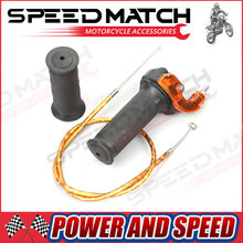Gas Karburator Throttle Kabel Twist Pegangan Grip untuk 2 Stroke 47cc 49cc Mini Moto Kotoran Anak ATV Quad Super Pocket sepeda(China)