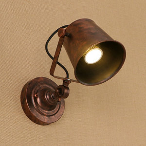 Image 2 - 11 colors Led Wall Lights indoor Retro Loft E27 bulb lamp Wall Lamp Bedroom Up Down Industrial Wall Sconce lamparas ZBD0012