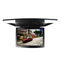 17 дюймов автомобиля монитор DC 12 В два видеовходов откидной монитор TFT ЖК дисплей цифровой экран sh1708 бежевый/ серый/черный