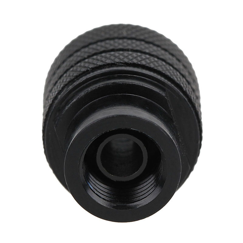 Keyless Chuck Grinding Chucks Quick Change 0.3-3.2MM For Rotary Tools Dremel Electric Grinder Drill 8*0.75 Long 0 4 3 4mm keyless chuck universal electric grinding chuck for dremel