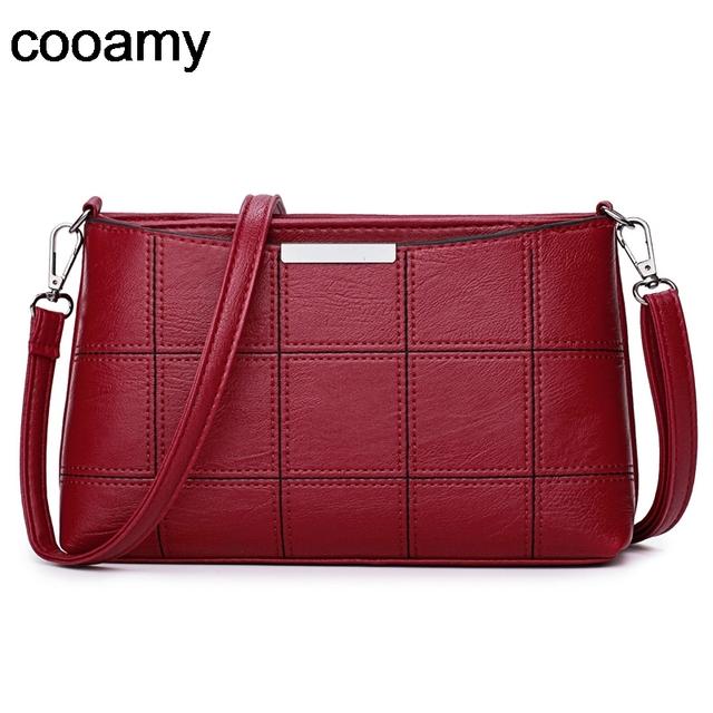 Fashion Women clutch Messenger Bags Design Girls' Shoulder Bags Diagonal PU Leather Lady Handbags Vintage Small Messenger Bag