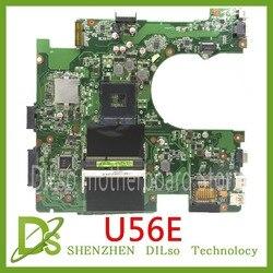 KEFU U56E płyta główna Asus U56E U56 DDR3 HM65 laptop płyta pracy Test 100% oryginalny w Płyty główne od Komputer i biuro na